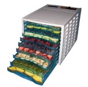 Good4U 10-Tray Food Dehydrator with 40-hour Digital Timer